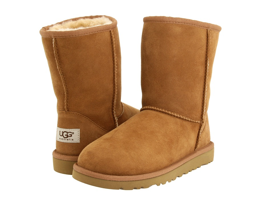 UGG Kids Classic Big Kid Chestnut Kids Shoes