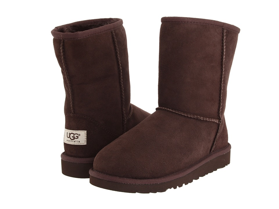 UGG Kids Classic (Big Kid) (Chocolate) Kids Shoes