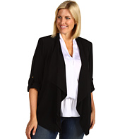 Calvin Klein - Plus Size Roll Sleeve Flyaway Jacket