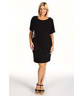 Calvin Klein - Plus Size Solid Buckle Dress