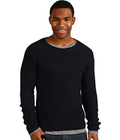 Scotch & Soda - Crew Neck Sweater with Jersey Inner Tee