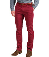 Scotch & Soda - Bowie Slim Fit Garment Dye Chino Pant with Belt