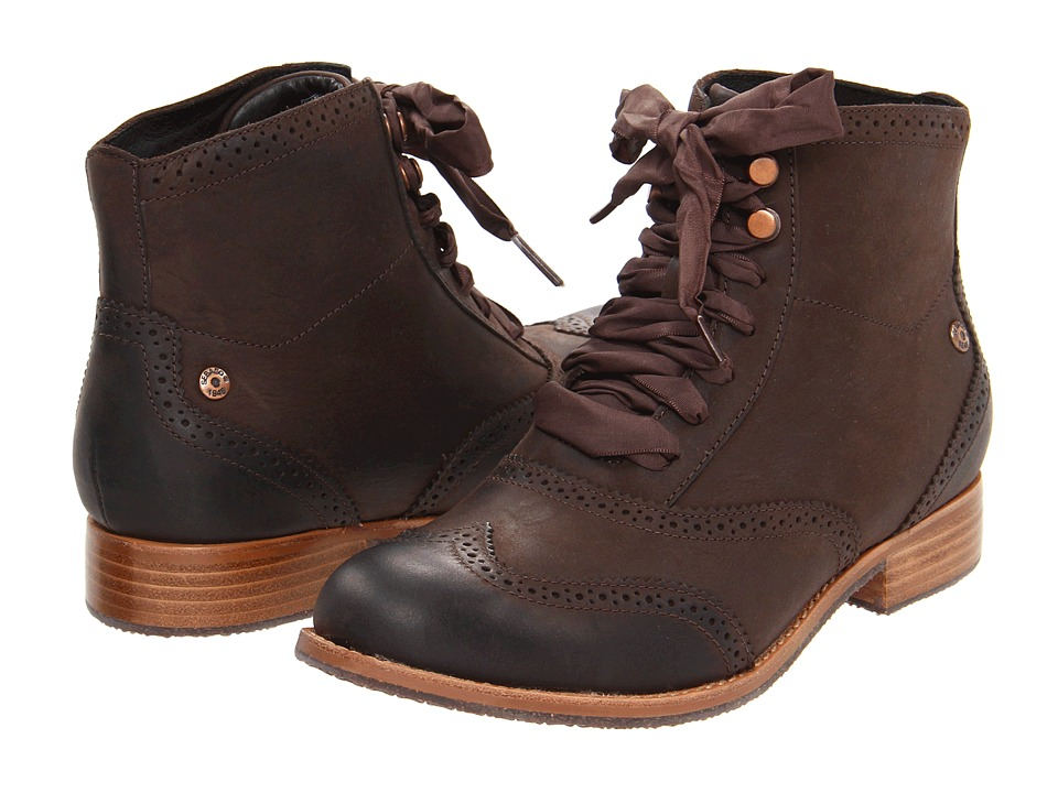 Sebago Claremont Boot (Mahogany) Women