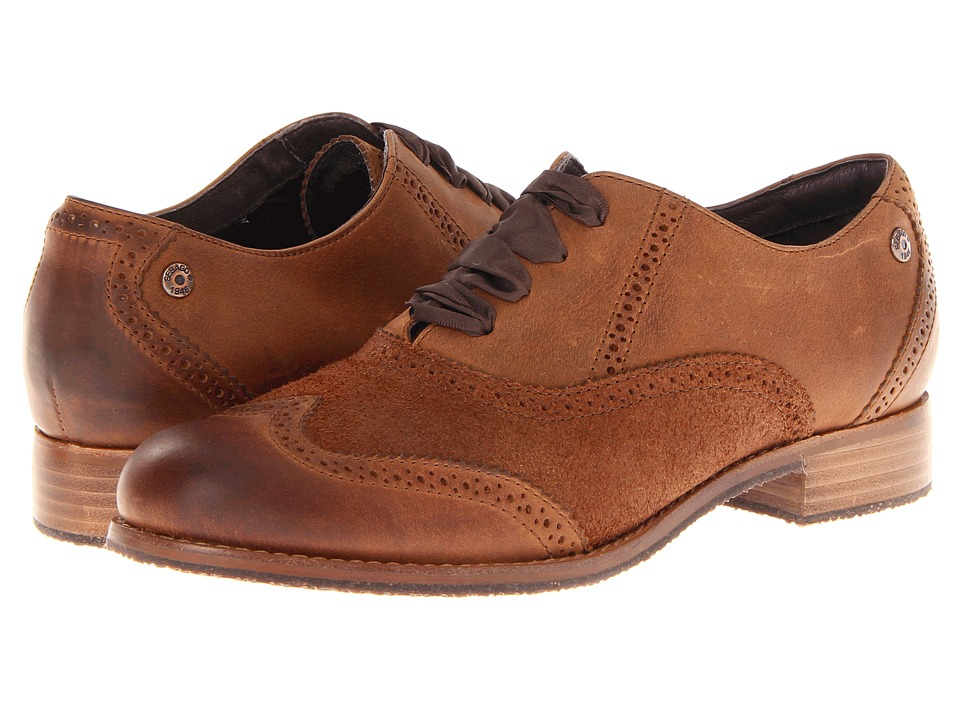 Sebago Claremont Brogue (Cinnamon/Bronze) Women