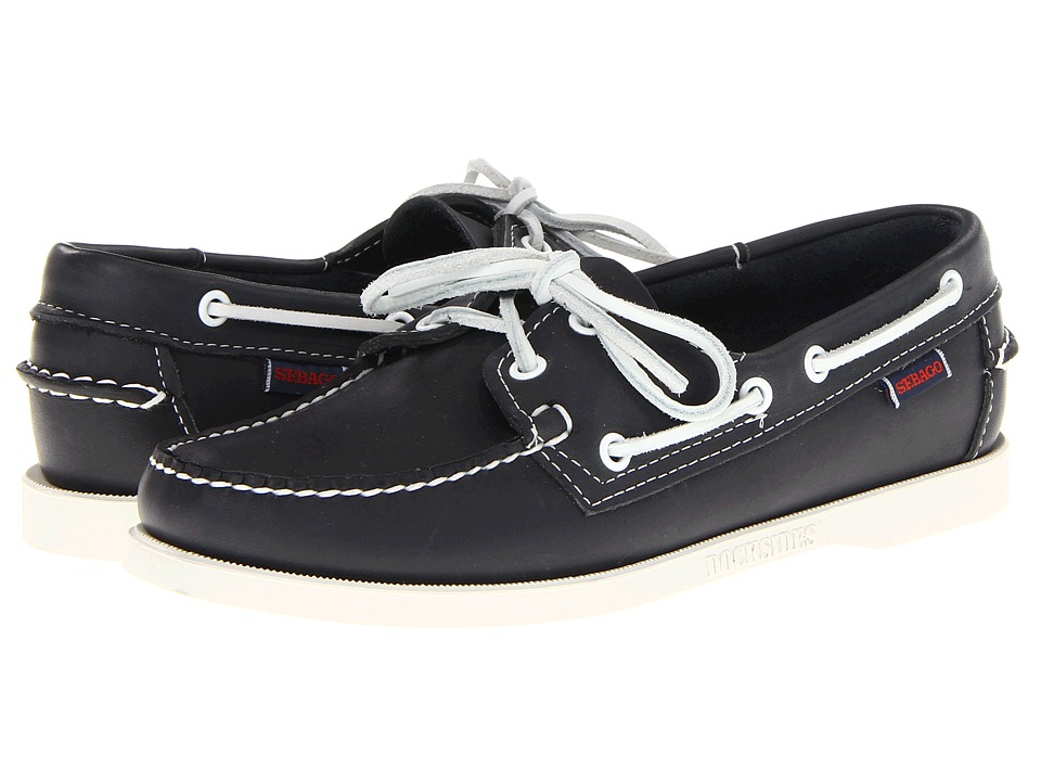 Sebago Docksides (Blue Nite) Women's Shoes