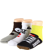 Quiksilver Kids - Sippin Socks 3-Pair Pack (Toddler/Little Kids)