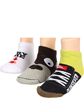 Quiksilver Kids - Sippin Socks 3-Pair Pack (Toddler)