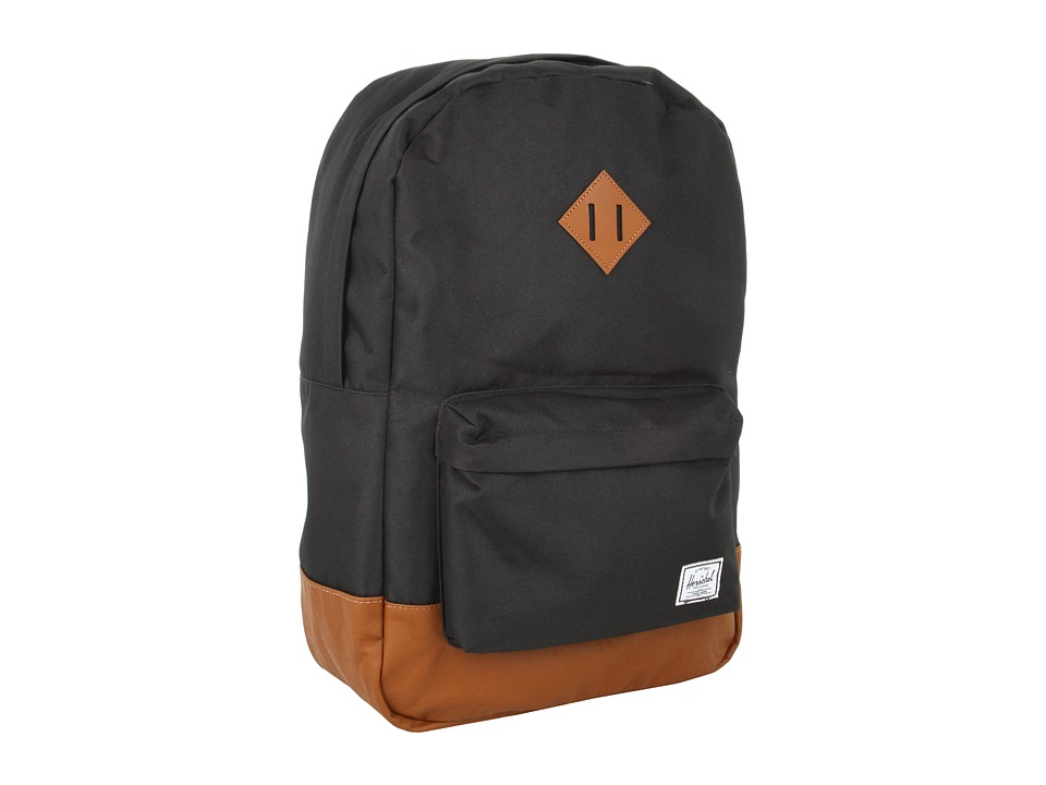 Herschel Supply Co. Heritage Black Backpack Bags