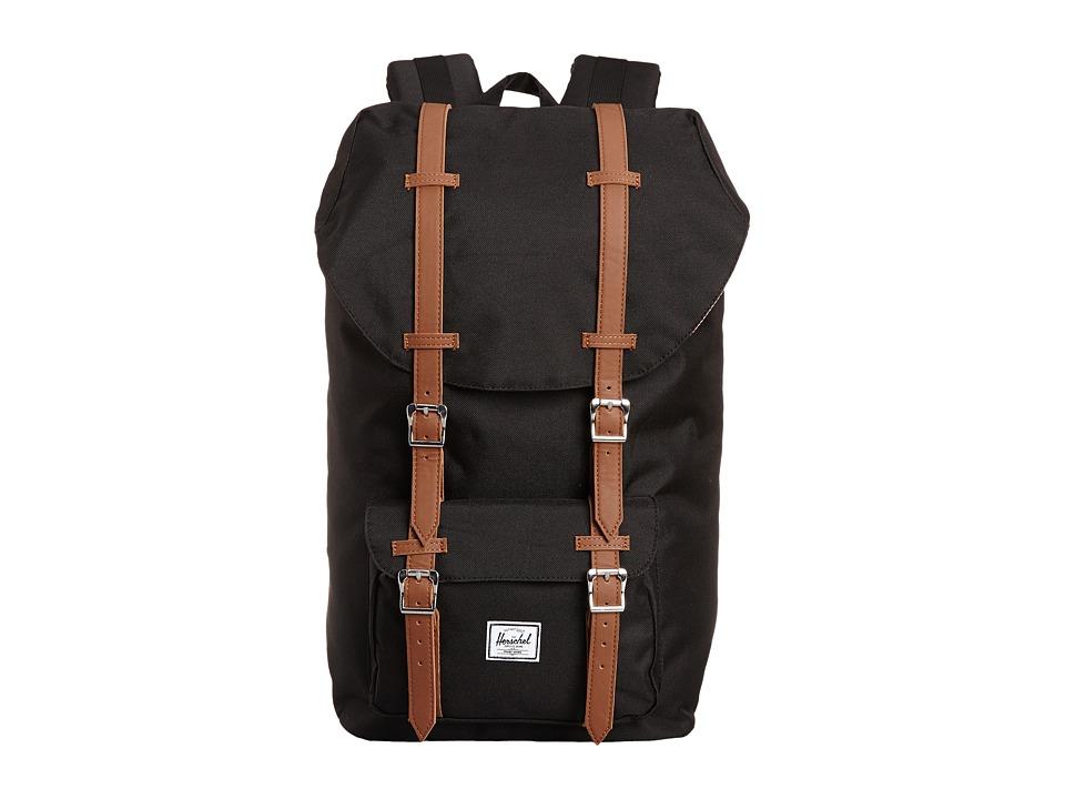 Herschel Supply Co. - Little America (Black) Backpack Bags