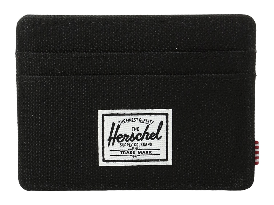 Herschel Supply Co. - Charlie (Black HO 12) Credit card Wallet