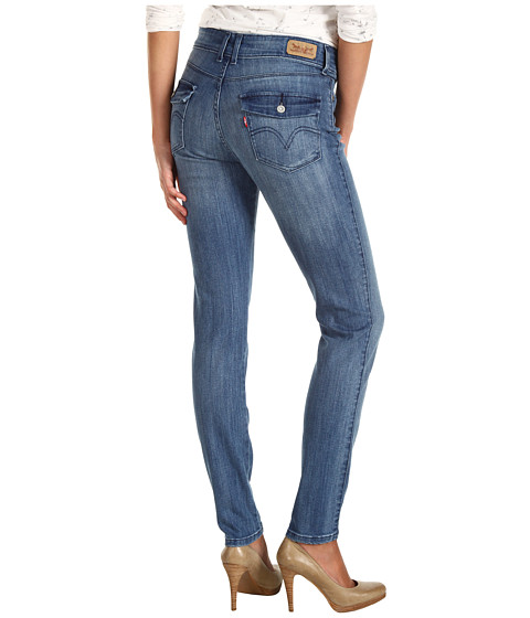 Cheap Levis Womens Mid Rise Styled Skinny Indigo Heaven W Flap