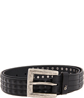 John Varvatos - 38mm Strap w/ Leather Covered Pyramid Studs