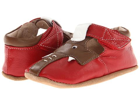 Livie & Luca - Baby Elephant (Infant) (Red/Brown) - Footwear