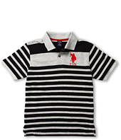 U.S. Polo Assn Kids - Polo Stripe Double Horse (Big Kids)