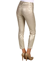 CJ by Cookie Johnson - Believe Metallic Crop in Gold Dust