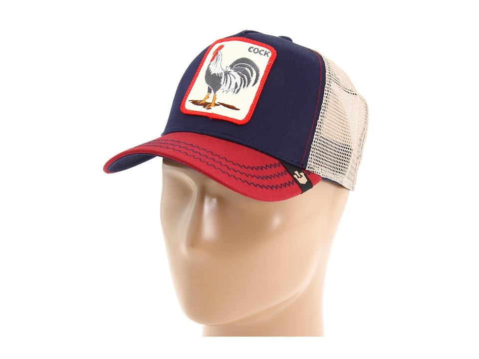 Goorin Brothers Animal Farm All American Rooster Navy Baseball Caps