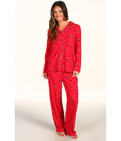 Karen Neuburger - Pop In Red L/S Girlfriend Long PJ
