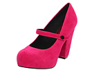 Big Buddha - Jane (Fuchsia Fabric) - Footwear