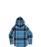 Quiksilver Kids - Four Shore L/S Hooded Flannel (Big Kids)
