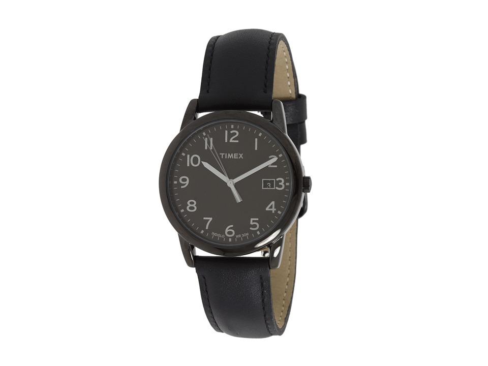 Timex Mens Classic Round Easy Reader Watch (Black) Sport ...