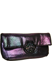 Rafe New York - Tenten Metallic Suede Clutch