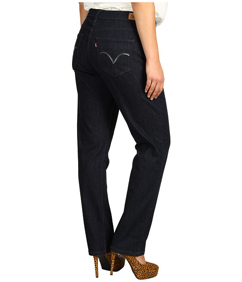 Levi's   Plus - Plus Size 512 Perfectly Shaping Skinny (Deep Night w/ Undercurrent Arcuate) - Apparel
