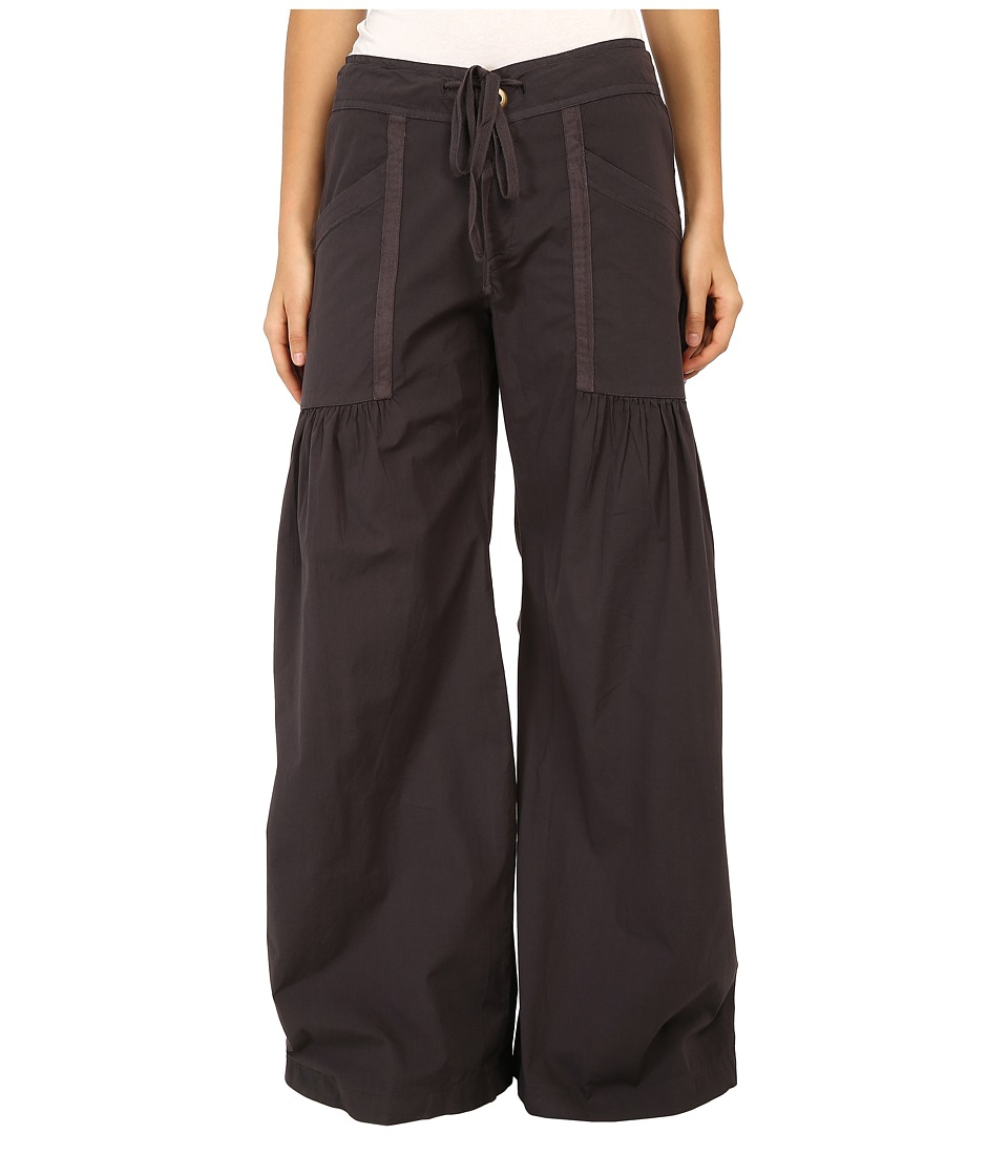 XCVI Willowy Wide Leg Stretch Poplin Pant Cloud Womens Casual Pants