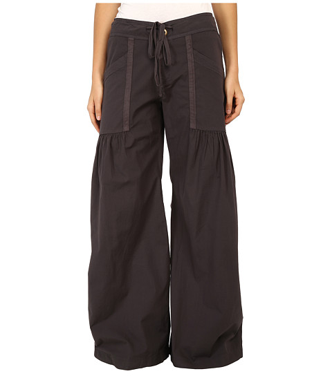 XCVI Willowy Wide Leg Stretch Poplin Pant