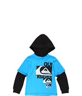 Quiksilver Kids - Dropkick L/S Hooded Technician (Toddler/Little Kids)