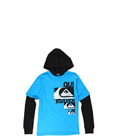 Quiksilver Kids - Dropkick L/S Hooded Technician (Big Kids)