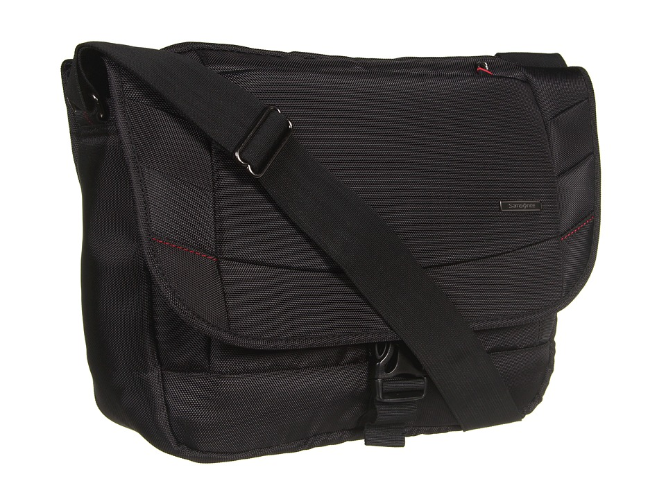 Samsonite Xenon 2 Messenger Bag Black Messenger Bags