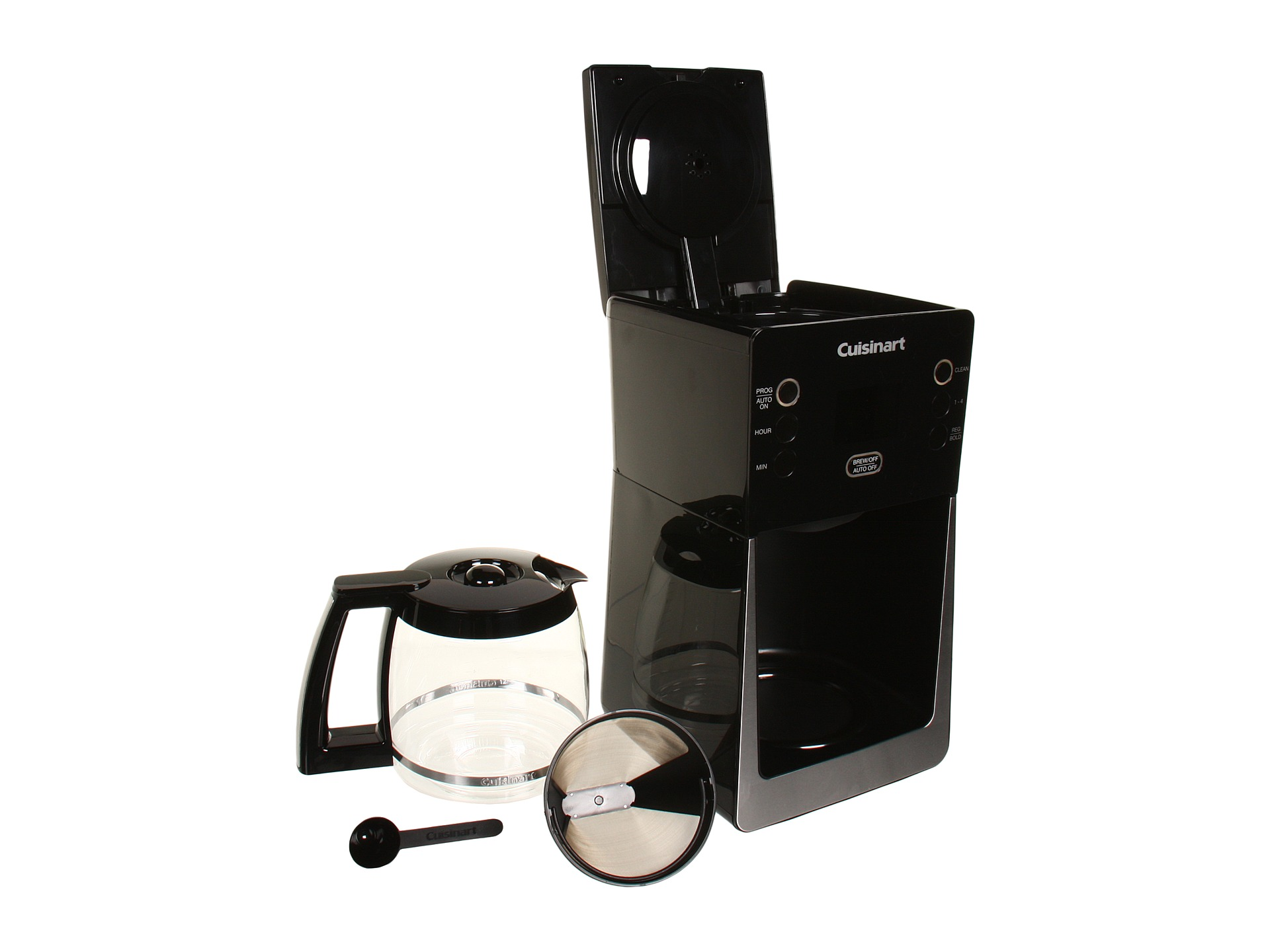 Cuisinart Dcc 2800 Perfectemp 14 Cup Glass Coffee Maker Shipped Free at Zappos