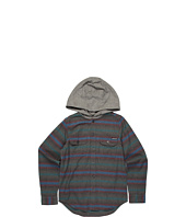 Quiksilver Kids - Switch Blade L/S Hooded Flannel (Big Kids)