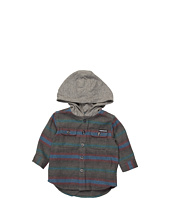 Quiksilver Kids - Switch Blade L/S Hooded Flannel (Infant)