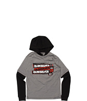 Quiksilver Kids - Meddle L/S Hooded Technician (Big Kids)