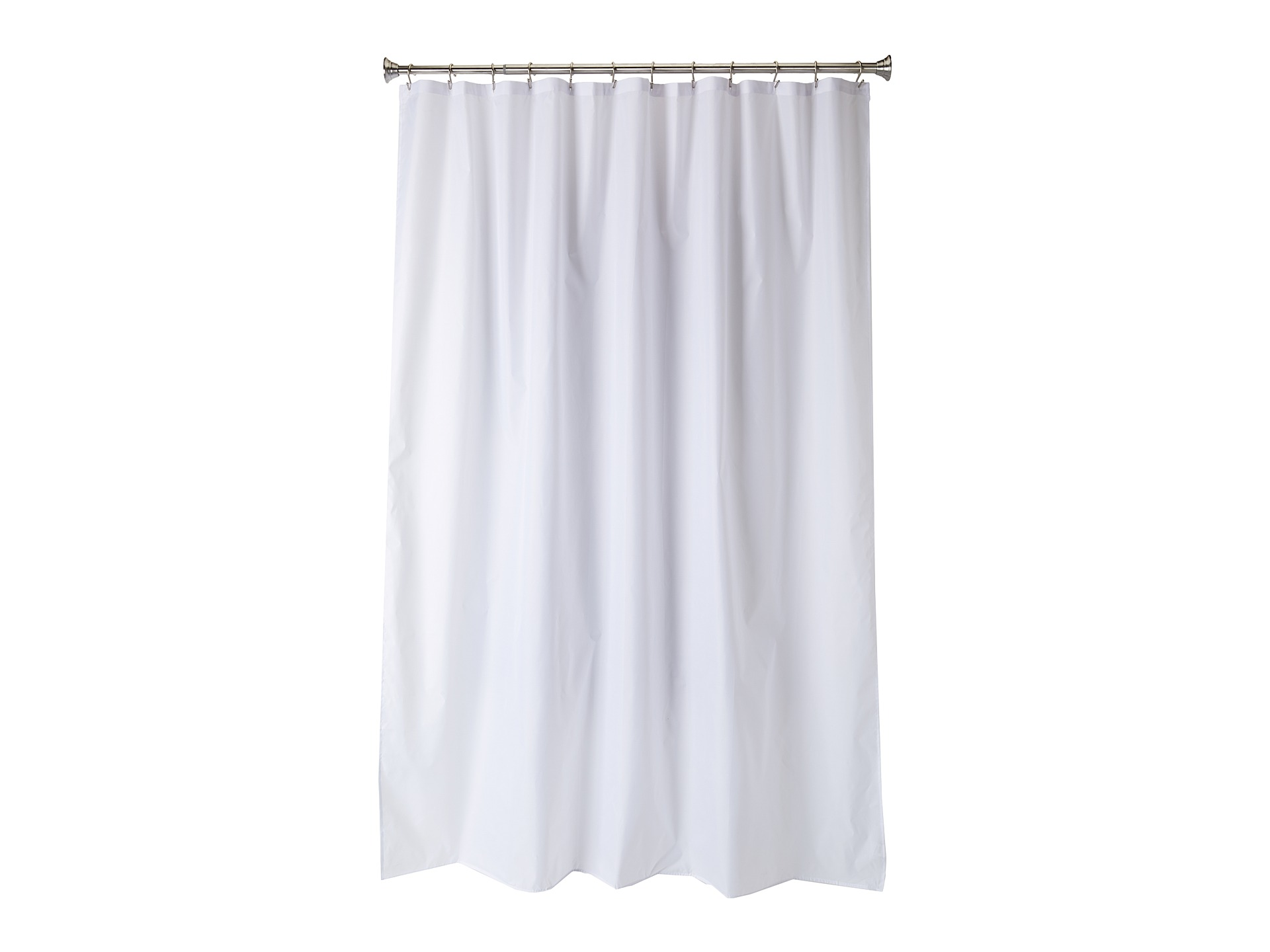 Interdesign Waterproof Fabric Long Shower Curtain Liner Shipped Free At Zappos