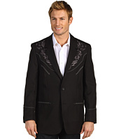Scully - Rockabilly Button Front Blazer w/ Embroidery Regular Fit