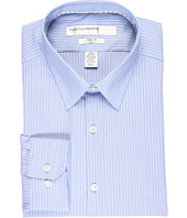 Perry Ellis - Iron-Free City Fit Even Stripe Dress Shirt