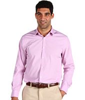 Perry Ellis - L/S Slim Fit Mini-Grid Woven Sport Shirt