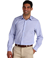 Perry Ellis - L/S Slim Fit Three-Tone Check Woven Sport Shirt
