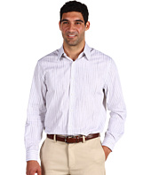 Perry Ellis - L/S Slim Fit Stripe Woven Sport Shirt