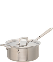 All-Clad - d5 Brushed 3 Qt. Sauce Pan With Lid