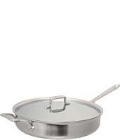 All-Clad - d5 Brushed 6 Qt. Saute Pan With Lid