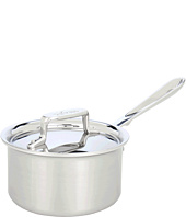 All-Clad - d5 Brushed 1.5 Qt. Sauce Pan With Lid