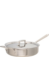 All-Clad - d5 Brushed 4 Qt. Saute Pan With Lid