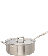 All-Clad - d5 Brushed 6 Qt. Deep Saute Pan With Lid