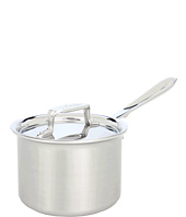 All-Clad - d5 Brushed 2 Qt. Sauce Pan With Lid