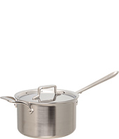 All-Clad - d5 Brushed 4 Qt. Sauce Pan With Lid