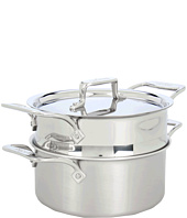 All-Clad - d5 Brushed 3 Qt. Casserole With Steamer