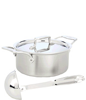 All-Clad - d5 Brushed 3 Qt. Soup Pot With Lid And Ladle